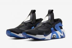 "Nike Adapt Huarache ""Racer Blue""  Release Date: December 12th Retail Price: $350  #KicksLinks #Sneakers #Nike Huaraches, Kicks, Sneakers Nike, Retail Price, Oc, December, Blue, Shoes, Style"