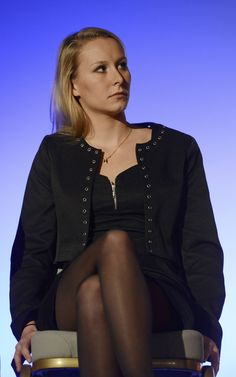 Marion Marechal, Powerful Women, Tights, Bell Sleeve Top, Celebs, V Neck, Sexy, Beautiful, Tops