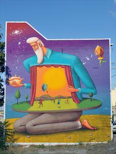 AEC. Fame Festival 2012. Street Art - Graffiti - Urban culture.