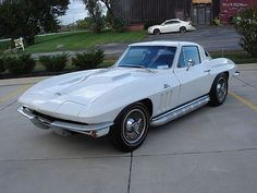 1965 Corvette , Big Block Car , Cobra Fighter , These Things Were Wicked Fast....Nascar Motors !