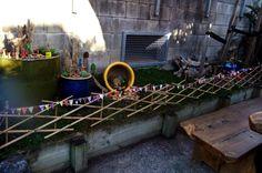 A fairy garden at Ronald McDonald House at Starship Children's Hospital, Auckland, New Zealand, made by Away With The Fairies https://www.facebook.com/Awaywiththefairiesgardens