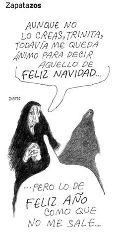 Zapatazo publicado el 24 de diciembre de 2005. (PEDRO LEÓN ZAPATA/ ARCHIVO EL NACIONAL)