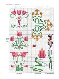 Gallery.ru / Art Nouveau Cross Stitch100.jpg - Art Nouveau Cross Stitch - lilkaaa