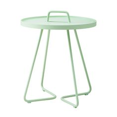 On-The-Move table, small, mint, by Cane-line.