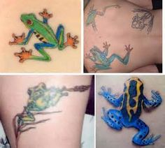 some cool examples of frog tattoos for you to browse though and enjoy Tree Frog Tattoos, Tree Frogs, Watercolor Tattoo, Temp Tattoo, Green Tree Frog