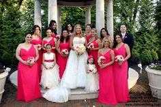 Florentine Gardens, Pink, www.abacuswedding.com, 908-822-1220, info@abacuswedding.com Florentine Gardens, Bridesmaid Dresses, Wedding Dresses, Pink, Fashion, Bridesmade Dresses, Bride Dresses, Moda, Bridal Gowns