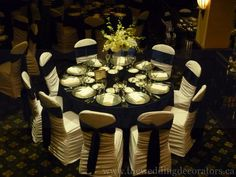 Navy themed wedding design