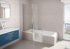 Met Kineduo hoeft u niet meer te kiezen tussen een bad of douche. Met Kineduo is uw bad ook als douche te gebruiken.