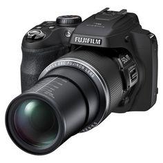 Fujifilm FinePix SL1000 16MP Digital Camera with 50x Optical Zoom - Black
