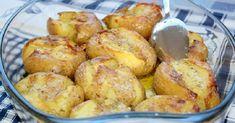 Tieto zemiaky v šupke zapečené v rúre vás preslávia po celom meste. Ich chuť JE NESKUTOČNÁ - chillin.sk Portugal, Bulgarian Recipes, Pretzel Bites, Deli, Quiche, Potato Salad, Snack Recipes, Potatoes, Pasta