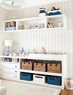 tapetes para quarto de bebe com nichos