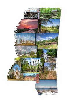 Sites of Mississippi