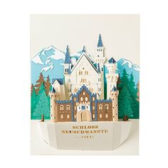 Kawada PNF001 Frame In Series Neuschwanstein Castle Paper Nano ** Read more reviews of the product by visiting the link on the image.