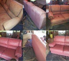 Dye Leather Furniture