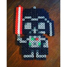 Darth Vader StarWars perler beads by morgananox