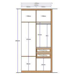 Alzado armario 16