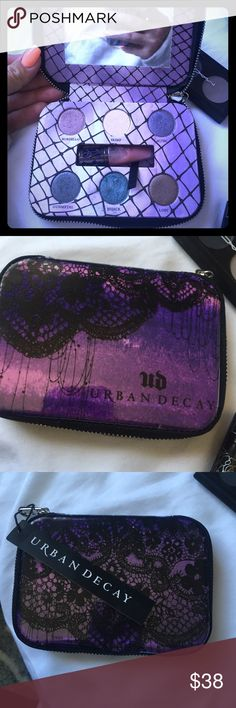 NWT Urban Decay Beauty With An Edge New great condition! Downsizing my make up collection! More in my closet! Bundle and save Urban Decay Makeup Eyeshadow