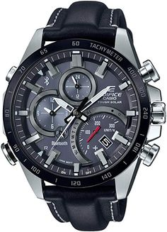 New EDIFICE [Solar Watch Bluetooth] Japan Import online shopping - Topofferideas Best Watches For Men, Amazing Watches, Luxury Watches For Men, Cool Watches, Men's Watches, G Shock Watches, Casio G Shock, Sport Watches, Military Tactical Watches