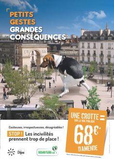 Actualités - Canettes, mégots, chewing-gums : Dijon va verbaliser les pollueurs de ses rues Corporate Communication, Rues, Movies, Movie Posters, Posters, Films, Film Poster, Cinema, Movie
