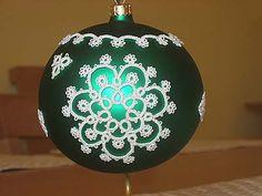 FotoForum - galerie fotografii, Wasze zdjęcia | Gazeta.pl Christmas Balls, Christmas Crafts, Christmas Decorations, Christmas Ornaments, Needle Tatting Patterns, Crochet Patterns, Tatting Tutorial, Tatting Lace, Beaded Ornaments