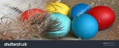 Easter eggs on desktop. Stock photography, images, pictures, Illustrations, ideas. Download vector illustrations and photos on Shutterstock, Istockphoto, Fotolia, Adobe, Dreamstime.