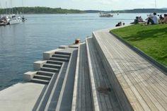 Tjuvholmen, Oslo by Bjorbekk & Lindheim as Architects