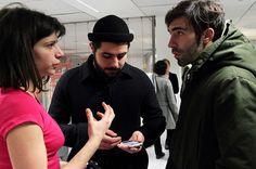 SONOSPHERES. Gaité Lyrique. 2012. Sonospheres est un dispositif mobile sonore et participatif permettant d'explorer les voix qui peuplent la Gaîté Lyrique. Orbe, kom.post, Gaîté Lyrique.