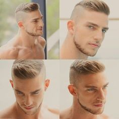 Do not just grow a short beard, rather use it to enhance your personality and manly look. Here are 70 most popular and trendy short beard styles you can try. Frizzy Short Hair, Short Hair Cuts, Short Hair Styles, Thinning Hair, Military Haircuts Men, Haircuts For Men, Men's Haircuts, Beard Styles For Men, Hair And Beard Styles