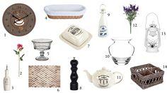 Doplňky do rustikální kuchyně / rustic kitchen accessories