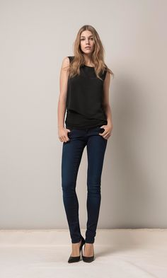 Mavi Serena low-rise super skinny jeans | shop the fall collection