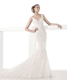 PRONOVIAS BARCELONA COLLECTION 2015 ATELIER Style CLAUDIANE