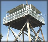 forest service rentals,  cabins and fire towers