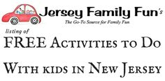 Our landing page with links to TONS of FREE activities kids can do in New Jersey.
