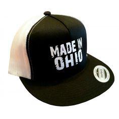 info for f0434 ed39c BuckeyeLVR Black Made In Ohio Trucker Hat Buckeyes, Etsy, Hat, Vintage,  Black