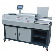 The perfect binder is a semi-automatic perfect binding machine, guaranteeing the best quality possible