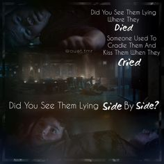 when they cried