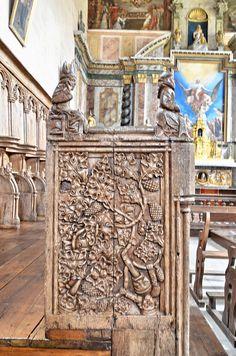 Les stalles de l'église de Mortemart - Haute Vienne by Vaxjo, via Flickr