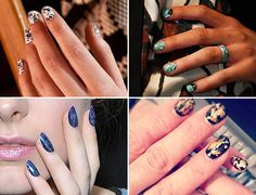 MARVELOUSLY MARBLED: The Best Nail Art at New York Fashion Week
