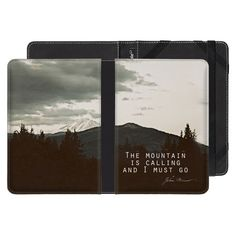 Amazon Kindle Paperwhite, eReader Cover, The Mountain Is Calling, Leah Flores