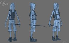 WiP Low poly runner fellow - Polycount Forum                                                                                                                                                                                 More