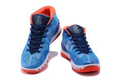 the latest e766a 78086 Authentic Nike Kyrie 1 USA Blue Red-White 705277-401