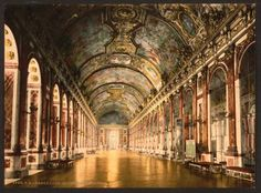 Gallery of Mirrors at Versailles