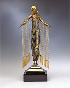 ErtÉ , Zobeide , limited-edition bronze sculpture