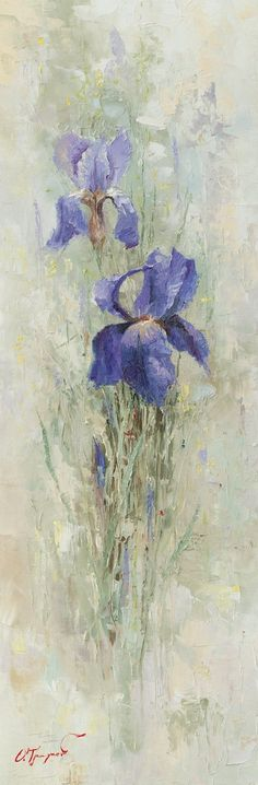 Irises in the Garden by OlegTrofimoff.deviantart.com on @deviantART