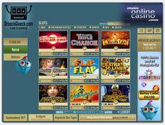 Neue #MeinOnlineCasino.com Empfehlung: DrückGlück. Das SkillOnNet Portal mit dem etwas sonderbaren Namen punktet mit einem attraktiven 300€ Startguthaben zu fairen Umsatzbedingungen von 20x die Bonussumme. Außerdem gibt es bis zu 185 Freispiele abzuholen. Merkur und Bally Wulff Slots sind ebenso Teil der Spieleauswahl.  http://www.meinonlinecasino.com/casino-testberichte/drueckglueck-casino-testbericht/