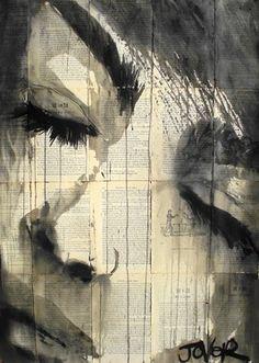 Saatchi Online Artist Loui Jover; Drawing, feel #art