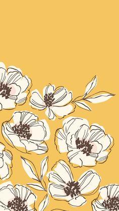 Wallpaper Floral Phone Print Patterns 31 Ideas For 2019 Cute Backgrounds, Cute Wallpapers, Wallpaper Backgrounds, Wallpaper Quotes, Iphone Backgrounds, Trendy Wallpaper, Wallpaper Desktop, Floral Wallpaper Iphone, Drawing Wallpaper