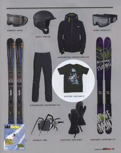 SkiTime - French Magazine - Lucky Gim - Janv13