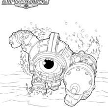 Skylanders coloring pages | Skylanders Birthday | Pinterest ...