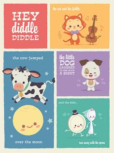 Kawaii Hey Diddle Diddle Limited Edition Print By Jerrod Maruyama